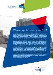 Wesermarsch, urban areas (DE) - Nieuwsbrief Climate Proof Areas
