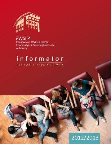 2012-2013 - PWSIiP w Łomży