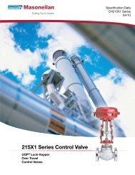 215X1 Series Control Valve - Ar-Pol