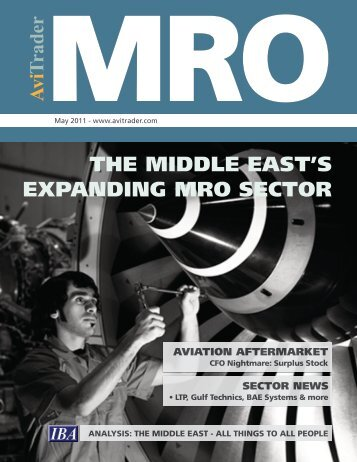 The Middle East MRO sector - AviTrader