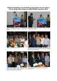Registro fotográfico da solenidade de lançamento do livro ... - ABH