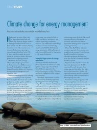 Shell Global Solutions - Impact Online 2006 Issue 2 - Case Study ...