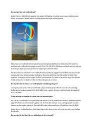 Hälsingeskogen-FoS om ljud - Bergvik Skog informerar om vindkraft