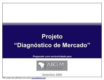 Diagnóstico de Mercado - abcem