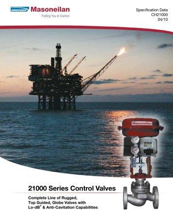 21000 Series Control Valves - Ar-Pol
