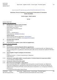 Avviso di gara (.pdf 162 KB ) - Gare di Trenitalia