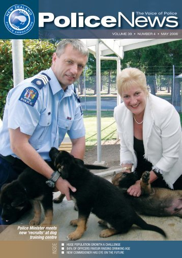 'recruits' At dog - New Zealand Police Association