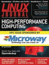 Linux Journal | April 2013 | Issue 228 - ACM Digital Library
