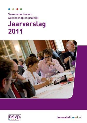 Jaarverslag 2011 - Innovatief in Werk