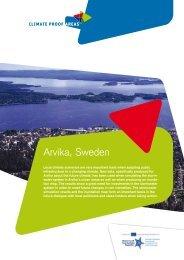 Arvika, Sweden - Nieuwsbrief Climate Proof Areas