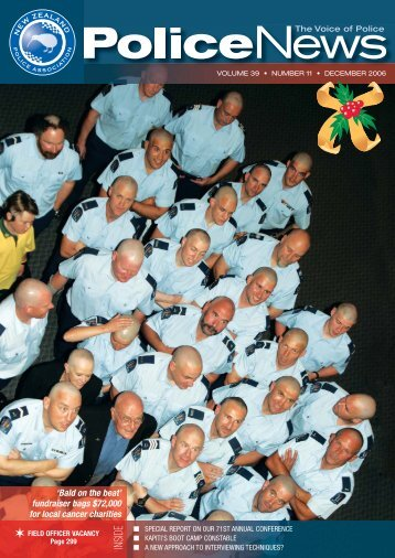 Bald On The Beat - New Zealand Police Association