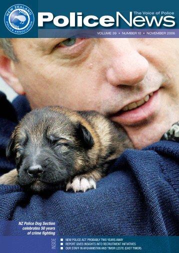 NZ Police Dog Section Celebrates 50 Years - New Zealand Police ...
