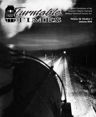January 2006 - Roanoke Chapter National Railway Historical Society