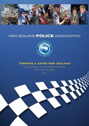 Towards a Safer New Zealand 2011.pdf - New Zealand Police ...
