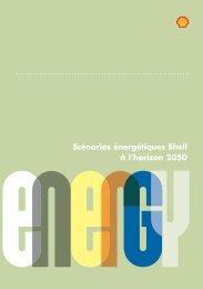 Scénarios énergétiques Shell à l'horizon 2050