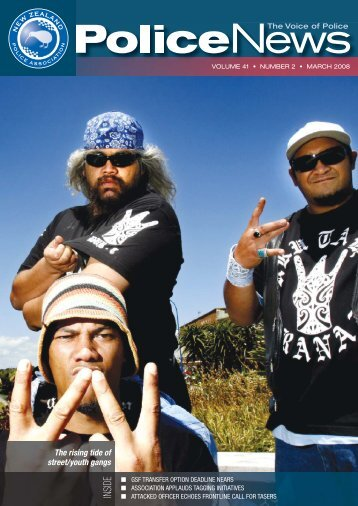volume 41 † number 2 † march 2008 - New Zealand Police ...