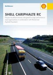 Shell Bitumen - Shell Cariphalte RC Brochure