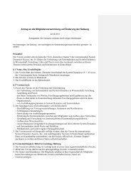 Antrag MV 2013 zur Änderung der DGSD Satzung - Deutsche ...