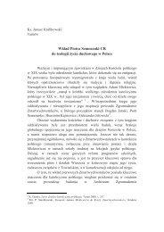 Wkład Piotra Semenenki CR do teologii życia duchowego w Polsce