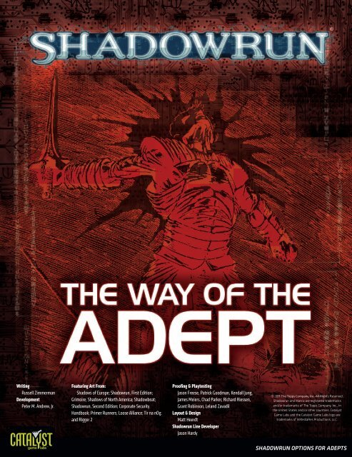 The Way of the Adept pdf - Title