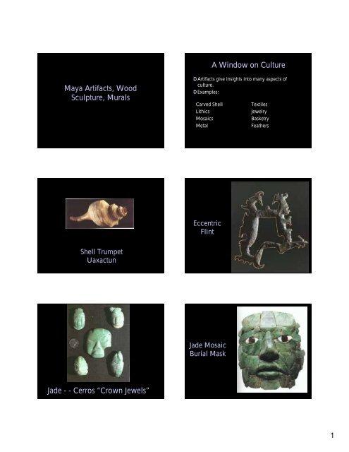 Maya Artifacts pdf