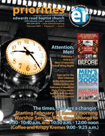 / / 5) ry - Edwards Road Baptist Church