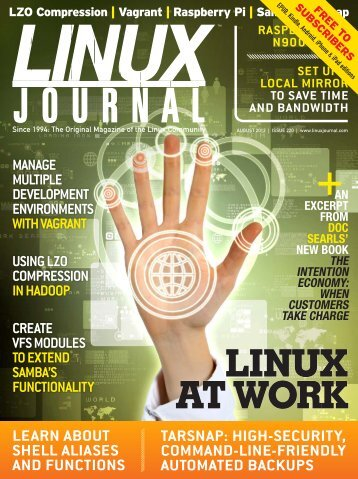 Linux Journal | August 2012 | Issue 220