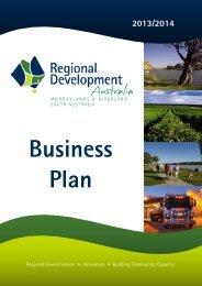 Business Plan 2013-2014 - RDA Murraylands & Riverland Inc