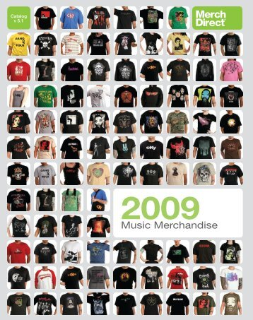 Music Merchandise - MerchDirect