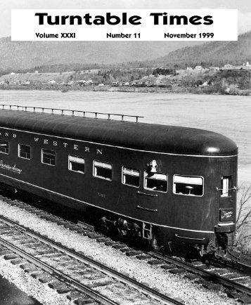 November 1999 - Roanoke Chapter National Railway Historical ...