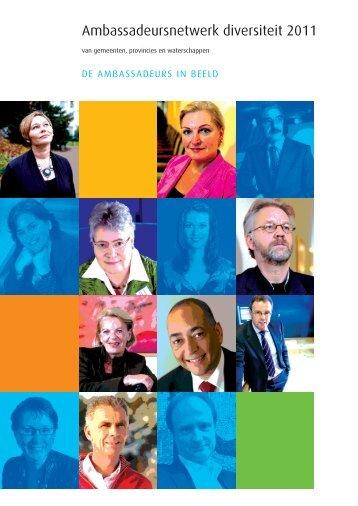 Ambassadeursnetwerk diversiteit 2011 - A+O fonds Gemeenten