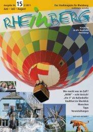 Stadtmagazin Rheinberg Ausgabe Nr.15