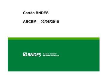 Cartão BNDES - abcem