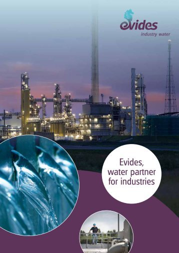 Evides, water partner for industries