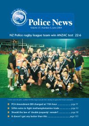 Police News June.indd - New Zealand Police Association