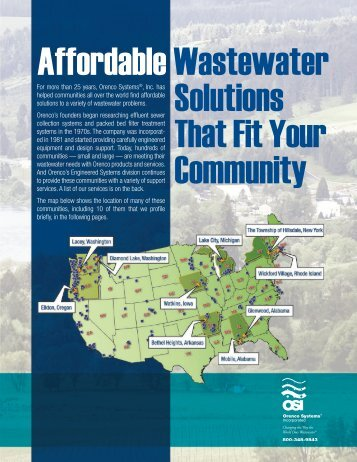 Affordable Wastewater Solutions That Fit Your Community - Dauphin ...