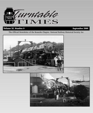 September 2000 - Roanoke Chapter National Railway Historical ...