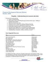 October - Seaforth Public School - Avon Maitland District School Board