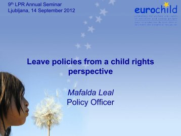 Leave policies from a child rights perspective - International Network ...