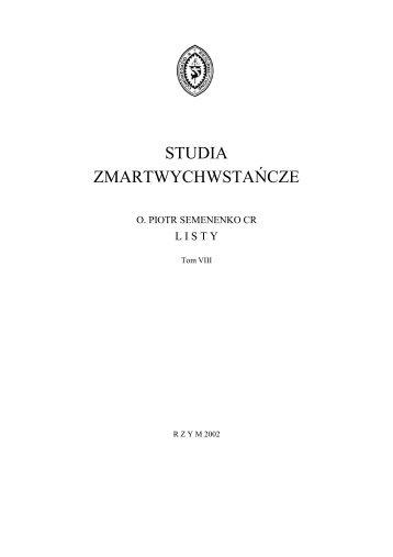 Tom VIII - Listy (1846-1856) - Biblioteka Internetowa ...