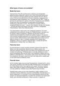 International Review of Leave Policies and Related Research 2010 - Page 6