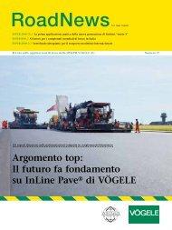 Argomento top: Il futuro fa fondamento su InLine Pave® di VÖGELE