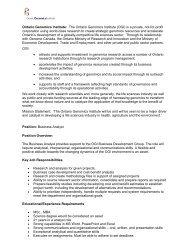 Business Analyst - Ontario Genomics Institute