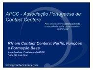 APCC - Associação Portuguesa de Contact Centers - CALLTM