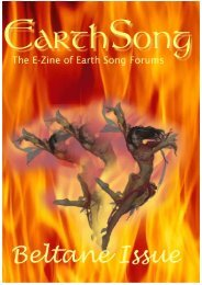 ESF E-Zine - Beltane Issue - EarthSong Forums
