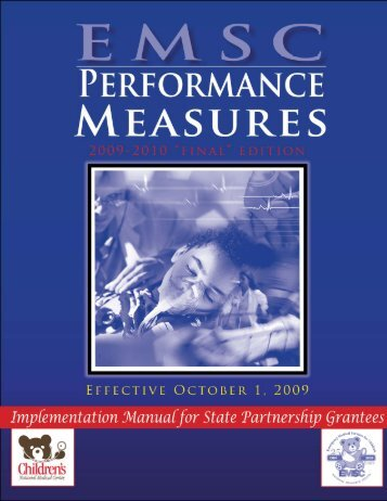 Performance Measures - ODPS | Emergency Medical Services