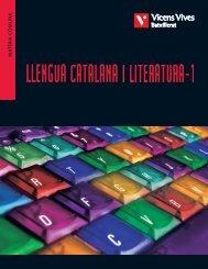 Llengua catalana i literatura-1 Catalunya - Vicens Vives