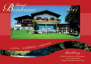 Page 1 Passauer Land/Bayerischer Wald .n o S 8 n .mn .mm H@ «ls ...