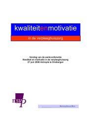 Verslag van de werkconferentie - Innovatief in Werk