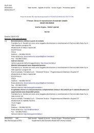 Avviso di gara (.pdf 177 KB ) - Gare di Trenitalia